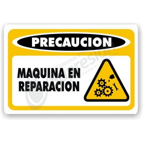 maquina en reparaci n